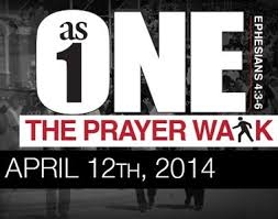 As One Prayer Walk