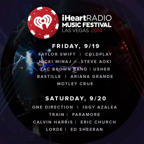 2014 IHeartRadio Music Festival Features Taylor Swift