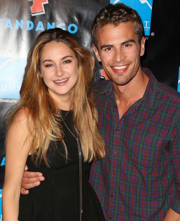 Divergent' Shailene Woodley and Theo James Dating Split Up: Did they ...